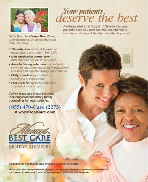 SeniorServices Print Ad
