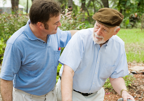 Baby Boomer Male Caregiver
